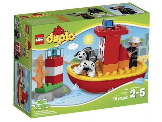 Конструктор Lego Дупло Пожарный катер 19 элементов 10591