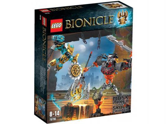 Конструктор Lego Биониклы Создатель Масок против Стального Черепа 171 элемент 70795