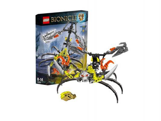Конструктор Lego Биониклы Череп-Скорпион 107 элементов 70794