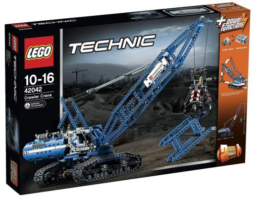 Конструктор Lego Technic Гусеничный кран 1401 элемент 42042