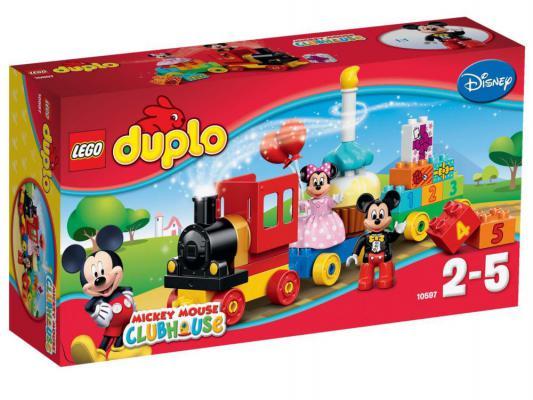 Конструктор Lego Дупло День рождения с Микки и Минни 24 элемента 10597