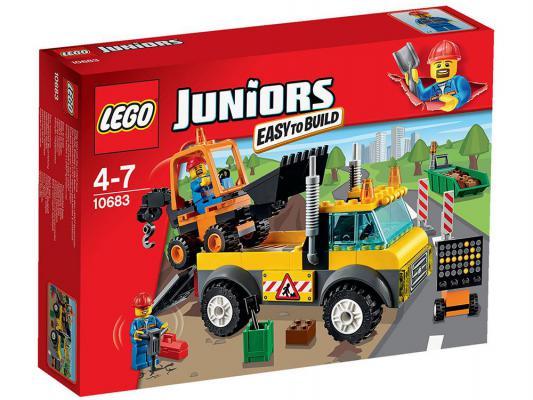 Конструктор Lego Джуниорс Грузовик для дорожных работ 132 элемента 10683