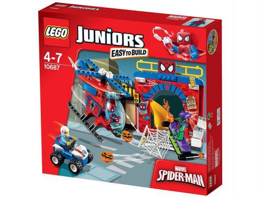 Конструктор Lego Джуниорс Убежище Человека-паука 137 элементов 10687