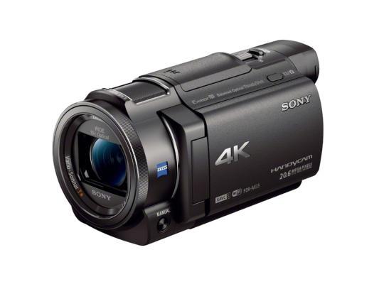Цифровая видеокамера Sony FDR-AX33B 8.3Mpx 20xzoom 3.0'' черный видеокамера sony fdr ax33 черный flash [fdrax33b cel]