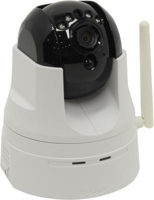 """Камера IP D-Link DCS-5222L/B2A/B2B CMOS 1/4"""" 1280 x 720 H.264 MJPEG RJ-45 LAN Wi-Fi белый черный"""