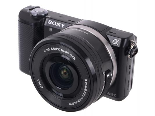 Фотоаппарат Sony ILCE-5000LS 20.1Mpx серебристый