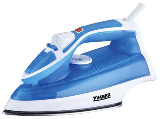 Утюг Zimber ZM-10710 2000Вт синий утюг zimber zm 10932 2000вт синий