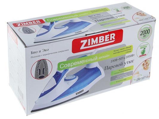 Утюг Zimber ZM-10711 2000Вт синий