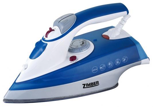 Утюг Zimber ZM-10809 2000Вт синий утюг zimber zm 10999