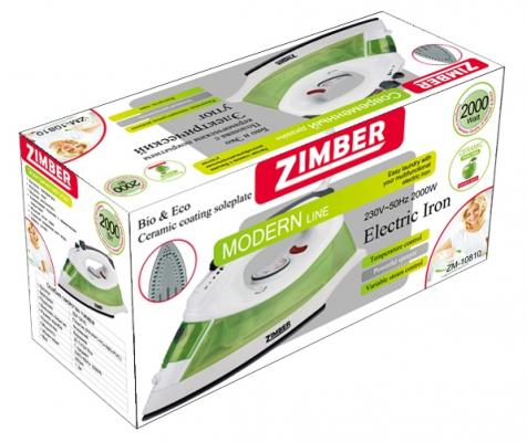 Утюг Zimber ZM-10810 2000Вт зеленый