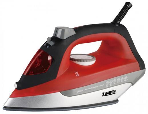 Утюг Zimber ZM-10883 2200Вт красный утюг zimber zm 11080 2200вт коричневый