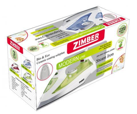 Утюг Zimber ZM-10886 2200Вт красный
