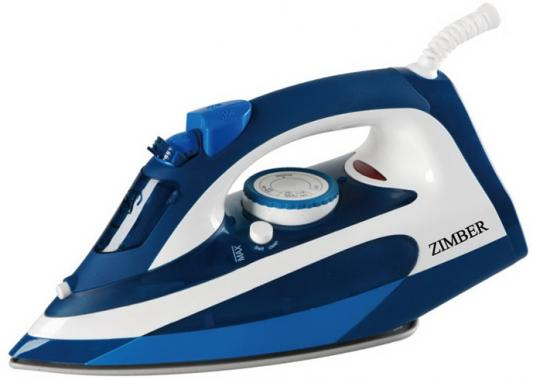 Утюг Zimber ZM-11001 2200Вт синий женские сапоги ecco 234533 11001