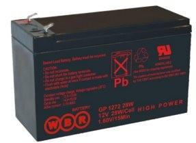 Батарея WBR GP 1272 F2 (28W) 12V/7.2AH цена