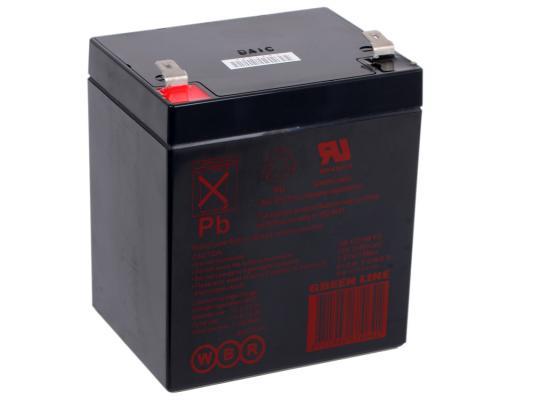 Батарея WBR HR 1221 W F2 CEII 12V/5AH батарея аккумуляторная csb gp1272 f2