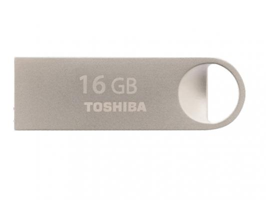 Флешка USB 16Gb Toshiba Owari THN-U401S0160E4 серебристый