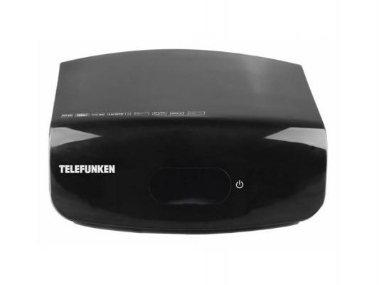Тюнер цифровой DVB-T2 Telefunken TF-DVBT209 черный