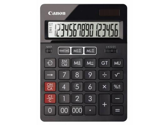 Калькулятор Canon AS-280 16 разрядов черный
