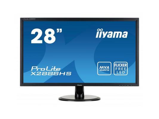 Монитор 28 iiYama Pro Lite X2888HS-B1/B2 монитор 24 iiyama pro lite xb2483hsu b2