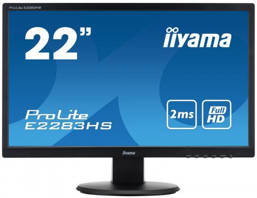 "Монитор 21.5"" iiYama ProLite E2283HS-B1"