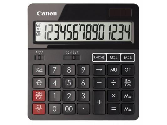 Калькулятор Canon AS-240 14 разрядов черный