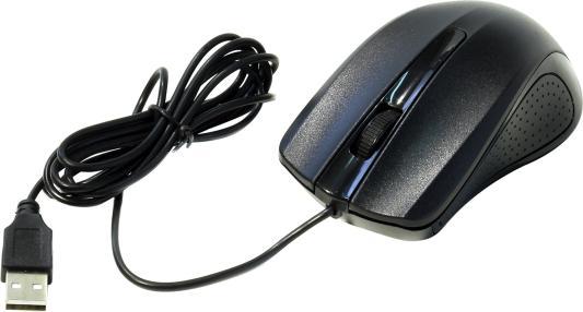 все цены на Мышь проводная Oklick 225M чёрный USB