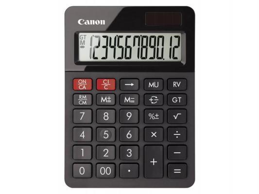 Калькулятор Canon AS-130 12 разрядов черный