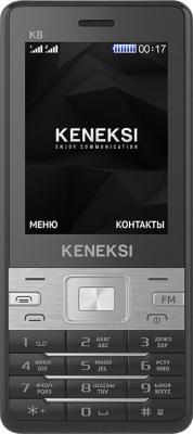 """Мобильный телефон KENEKSI K8 черный 2.4"""""""