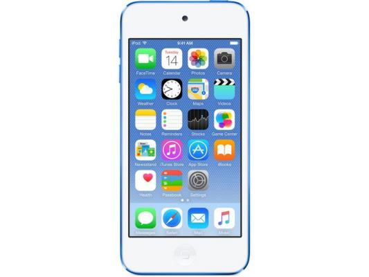 Плеер Apple iPod Touch 6 32Gb MKHV2RU/A синий плеер mp3 apple ipod touch 6 64gb pink mkgw2