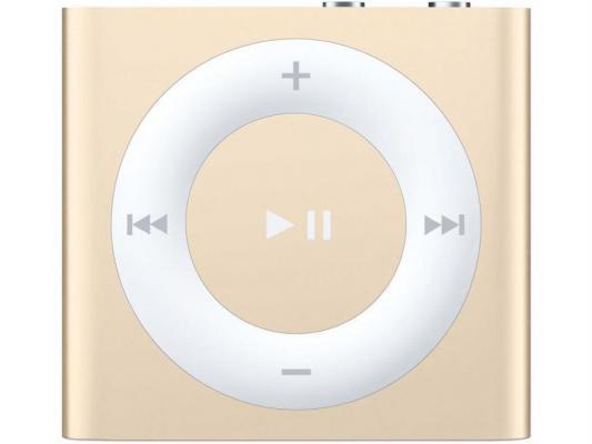Плеер Apple iPod Shuffle 2Gb MKM92RU/A золотистый