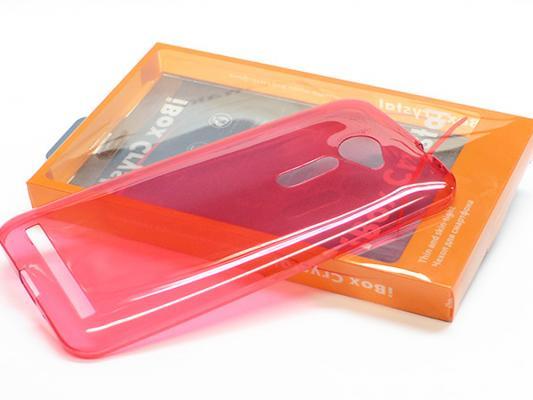 Чехол силикон iBox Crystal для Sony Xperia C5 Ultra красный newest qiyi warrior w 3x3x3 profissional magic cube competition speed puzzle cubes toys for children kids cubo magico qi103