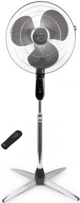 Вентилятор напольный Vitek VT-1911 СН 55 Вт черно-серебристый