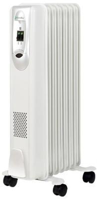 Масляный радиатор BALLU Comfort BOH/CM-07WDN 1500 Вт белый масляный радиатор ballu style boh st 05w 1000 вт ручка для переноски термостат белый