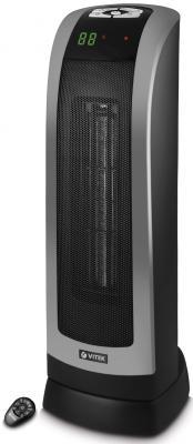 Тепловентилятор Vitek VT-2134 BK 1800 Вт дисплей таймер пульт ДУ чёрный