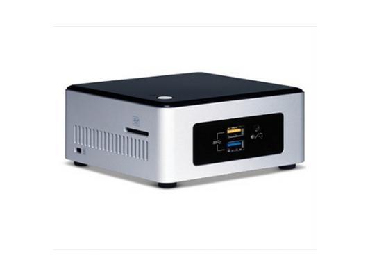 Неттоп-платформа Intel BOXNUC5CPYH N3050 1.6GHz 1xDDR3 SATA Intel HD Bluetooth Wi-Fi GbLAN 4xUSB 3.0 HDMI VGA серебристо-черный BOXNUC5CPYH 940289