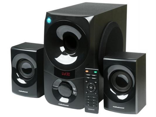 Колонки Nakatomi GS-35 2x15Вт+35Вт черный