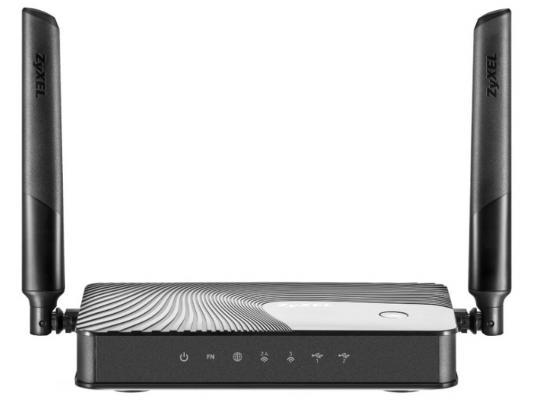 Беспроводной маршрутизатор Zyxel Keenetic Giga III 802.11acbgn 1167Mbps 2.4 ГГц 5 ГГц 4xLAN USB3.0 черный wi fi роутер zyxel keenetic giga iii keenetic giga iii