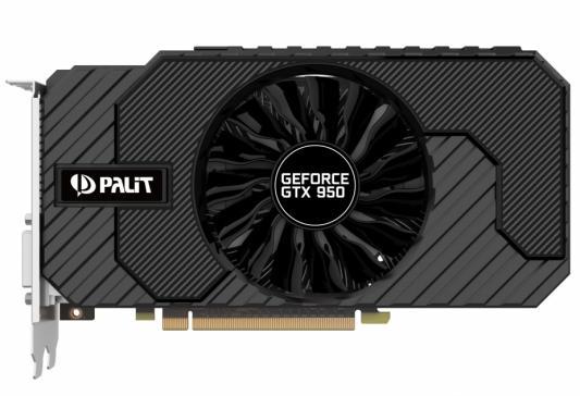 ���������� 2048Mb Palit GeForce GTX950 STORMX 2G PCI-E 128bit GDDR5 2xDVI HDMI DP HDCP NE5X95001041-2063F Retail