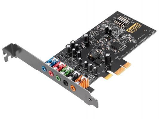 Звуковая карта PCI-E Creative AUDIGY FX SB Bulk 30SB157000001 (SB1570)