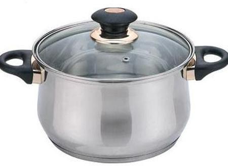 купить Кастрюля Bekker BK-1255 2.8 л 18 см по цене 680 рублей