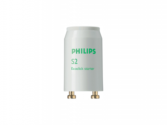 Стартер для люминесцентных ламп Philips S2 220-240V 4-22W long sleeves guipure hollow out blouse
