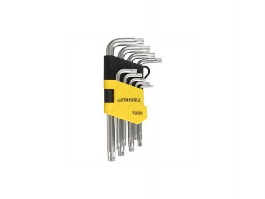 Набор ключей Stayer MASTER 9шт 2743-H9 рулетка stayer master 2мx16мм 34014 02 16