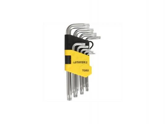 Набор ключей Stayer MASTER 9шт 2743-H9 набор бит stayer master pocket 2 26087 h21