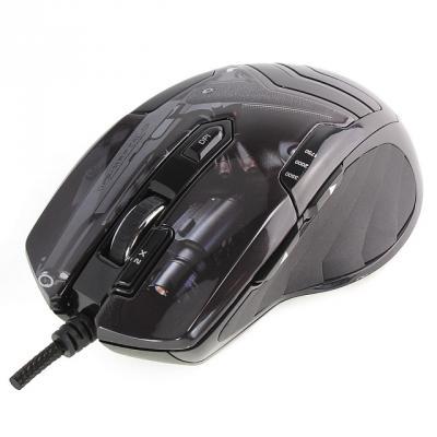 Мышь проводная Crown CMXG-703 Colt чёрный USB цена