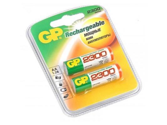 Аккумулятор 2300 mAh GP 230AAHC-2DECRC2 AA 2 шт pilot набор стержней для шариковой ручки bps gp цвет черный 12 шт fj gp m b 12