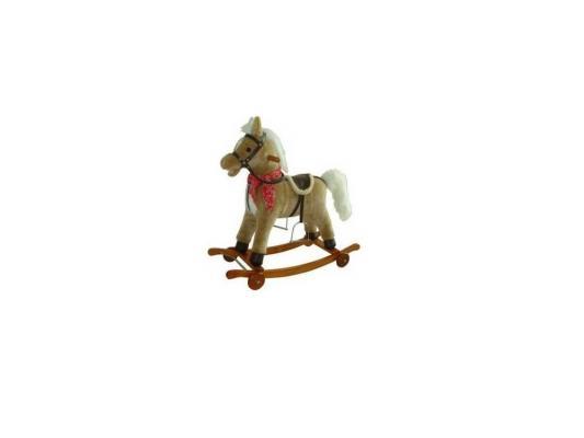 Качалка Shantou Gepai Лошадка бежевый от 1 года дерево 61053