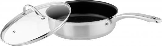 Сковорода Winner WR-6000 24 см 3 л нержавеющая сталь