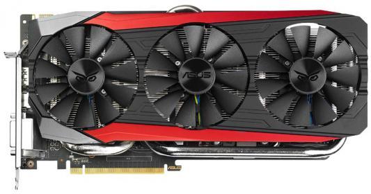 ���������� 6144Mb ASUS GeForce GTX980TI PCI-E 384bit GDDR5 DVI HDMI DPx3 HDCP STRIX-GTX980TI-DC3-6GD5 Retail