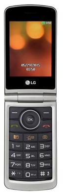 Мобильный телефон LG G360 титан 3 20 Мб мобильные телефоны lg мобильный телефон g360 titanium