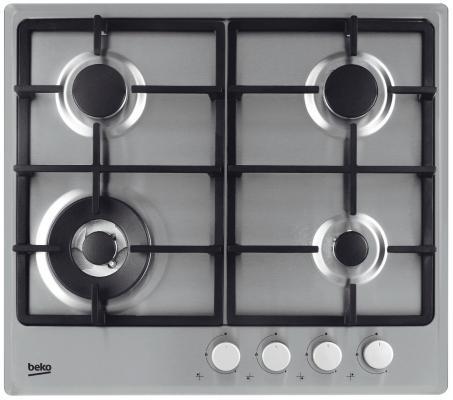 Варочная панель газовая Beko HIMW 64225 SX серебристый цена и фото
